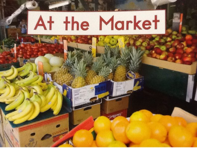Hcpss At the Market by Sandie Daro