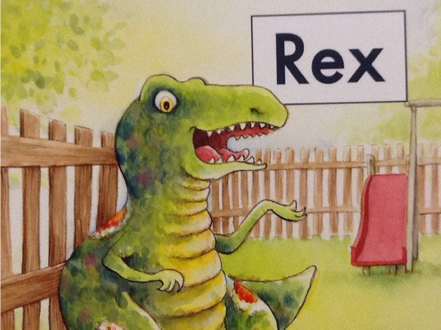 Hcpss Rex  by Sandie Daro
