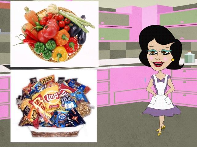 Healthy Foods by Aliesha Davies