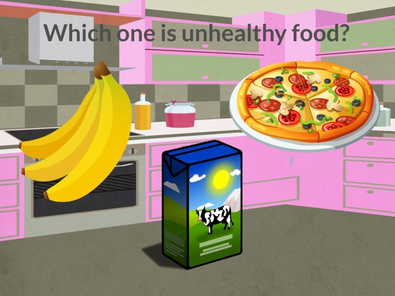 Healthy and Unhealthy Foods by Mauie Castro