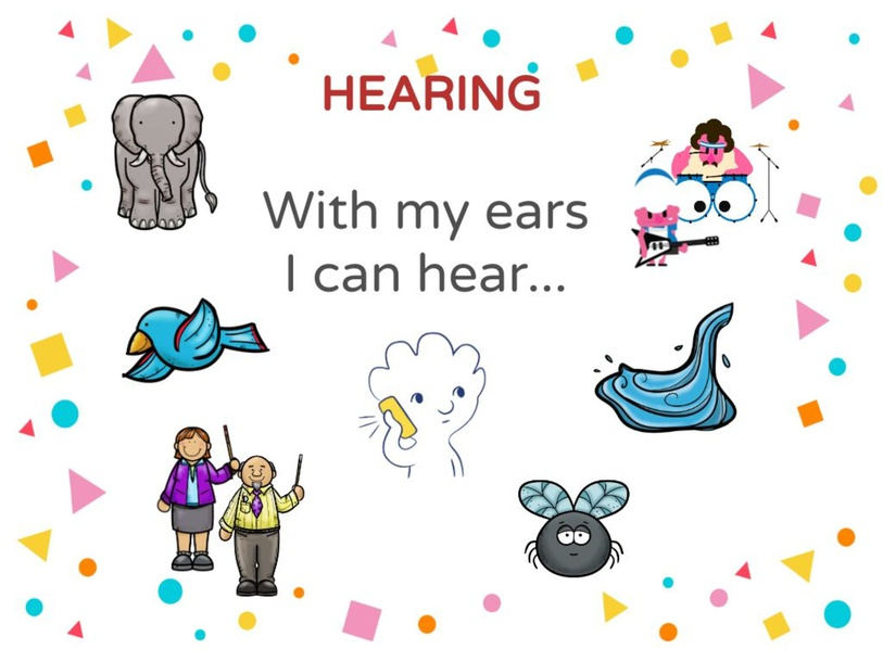 Hearing Collage by Kevin Nunez