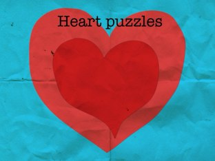 Heart Puzzles by Makenzie Mathews