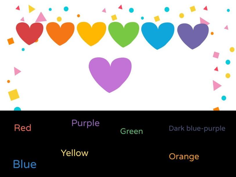 Heart Colors by Azra Erkan