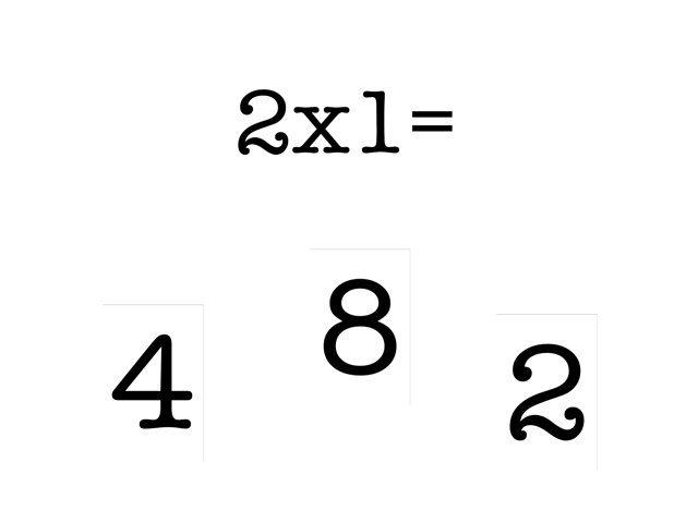 Heather Multiplication 2 X Table by Knauth Class