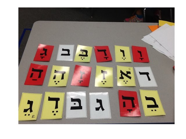Hebrew Letter Sounds by Miriam Esther Wilhelm