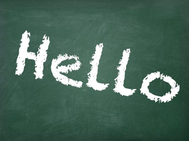 Hello! by Piper Boden