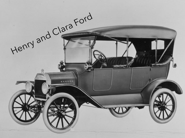 Henry And Clara Ford by Cristina Chesser