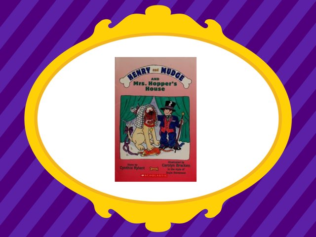 Henry and Mudge and Mrs. Hopper's House Vocabulary by Jennifer Klostermann