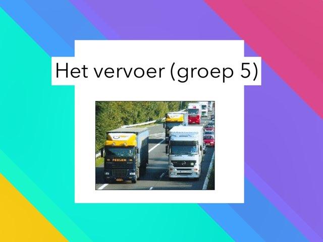 Het Vervoer Groep 5 by Wieke Jasper