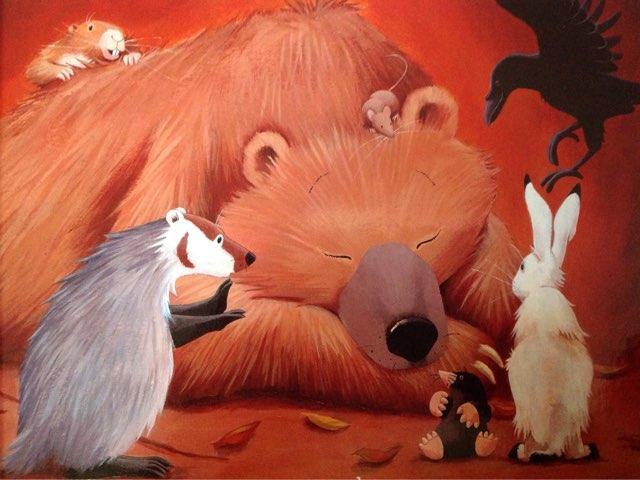 Hibernating Bears by Lindsey Roberts-Walstrom