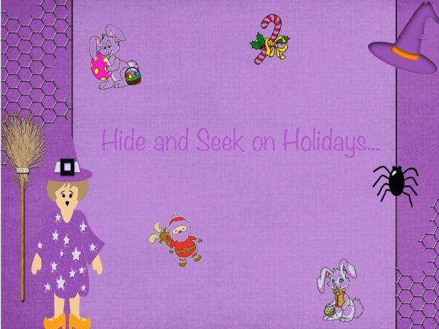 Hide And Seek On Holidays by Zoila Masaveu