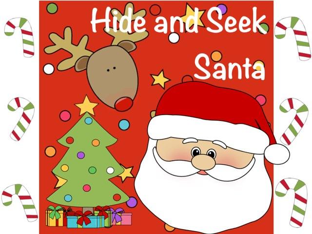 Hide And Seek Santa by Ana Vivanco