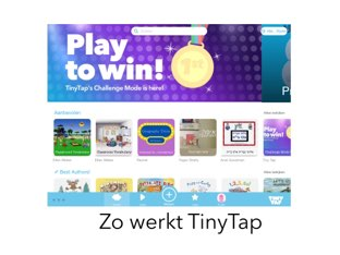 Hoe werkt TinyTap? by Slim met media SMM