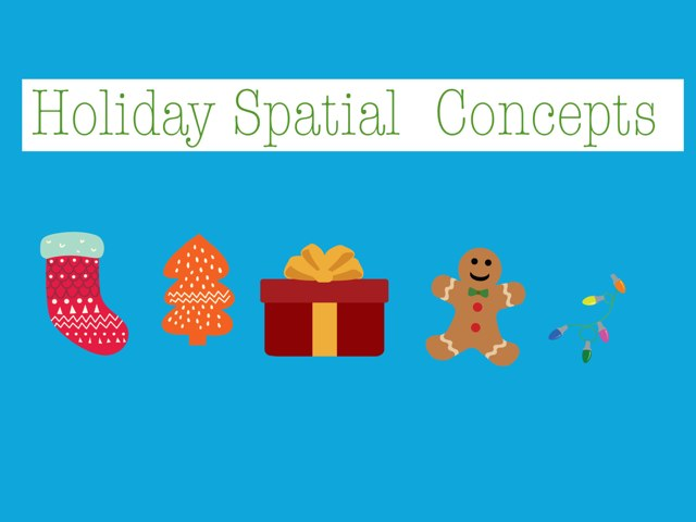 Holiday Spatial Concepts by Meredith Bluver