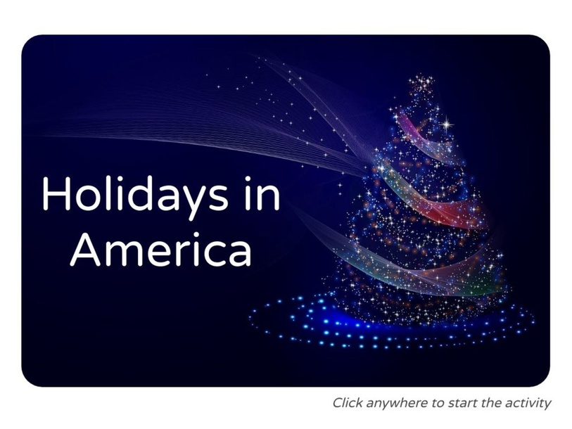 Holidays in America by Julio Pacheco
