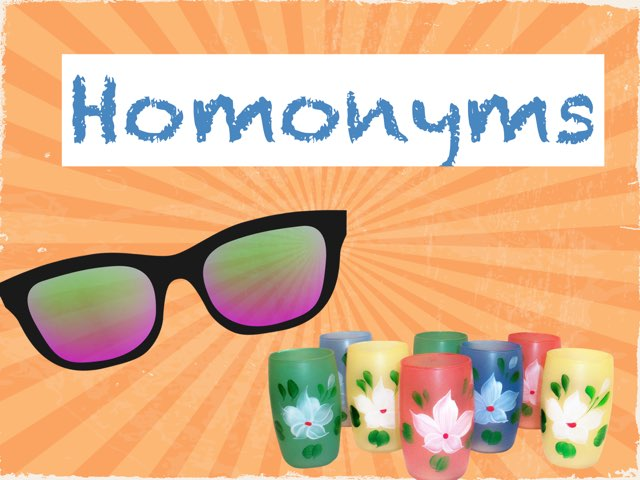 Homonyms by Madonna Nilsen