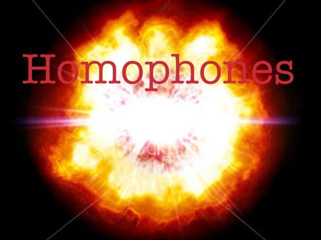 Homophnes  by Krystal Wiggins