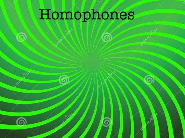Homophone  by Krystal Wiggins
