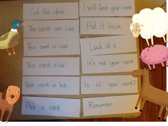 Hot Card Trick by Barbi Bujtas