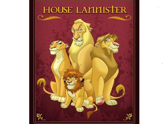 House Lannister by Steve Ramsdale