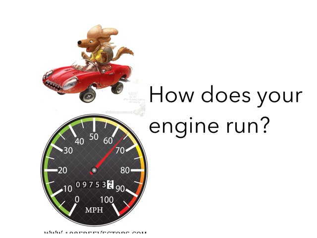 How Does Your Engine Run? by Danielle Ramus