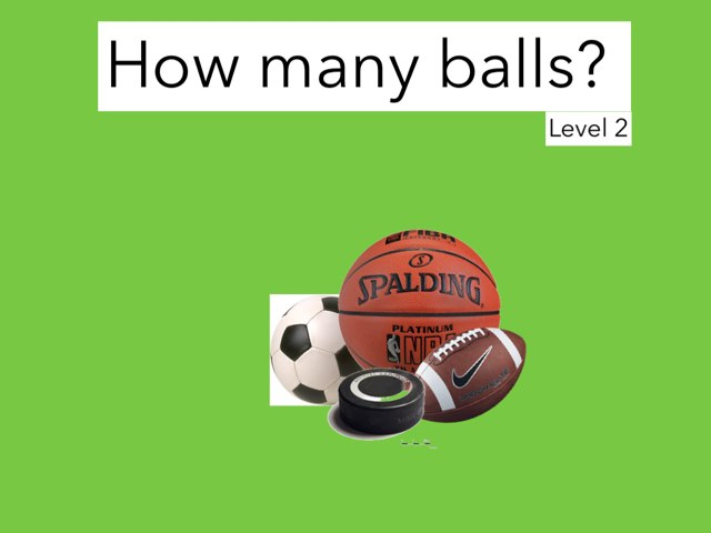 How Many Balls? Level 2 by Julie Gittoes-Henry