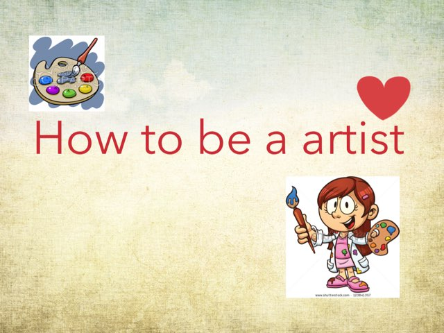 How To Be a Artist by Mohammad isha