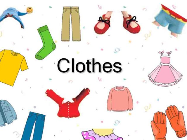 How To Say My Clothes In English by English Time