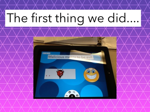 How We Made A Tinytap Game by Cindy Martin