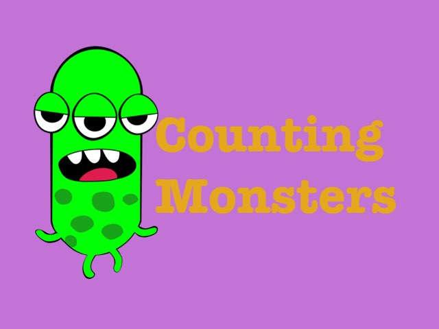 How many monsters? by Sylvia cloessner