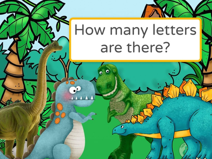 How many letters are there? by Tengku  Sarah