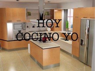 Hoy Cocino Yo by Sandra Vasiliu Tomas