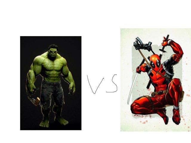 Hulk Vs Deadpool by George awrahim