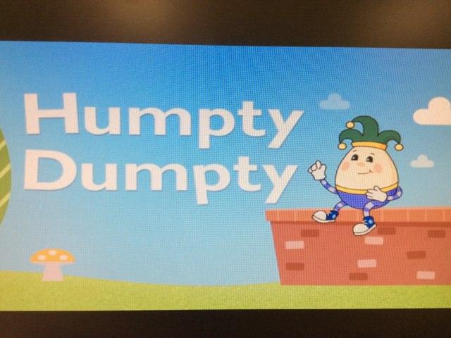 Humpty Dumpty by Julie Gittoes-Henry