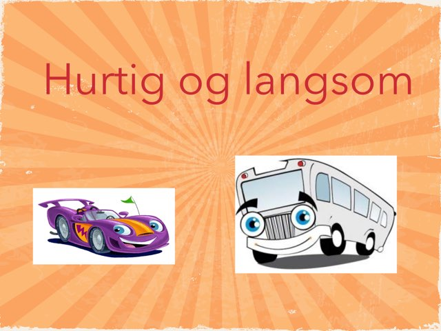 Hurtig og langsom by Anne-Marie Tange-Pagaard