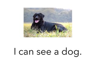 I Can See A Dog  by Gecko SKPS