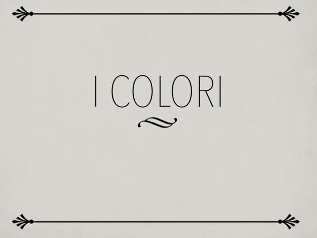 I Colori by Giuseppe Lucchese