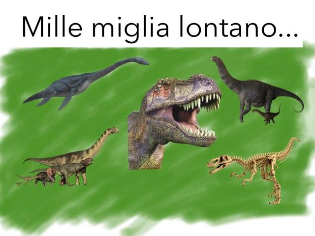 I Dinosauri . by Carmelo Marchese