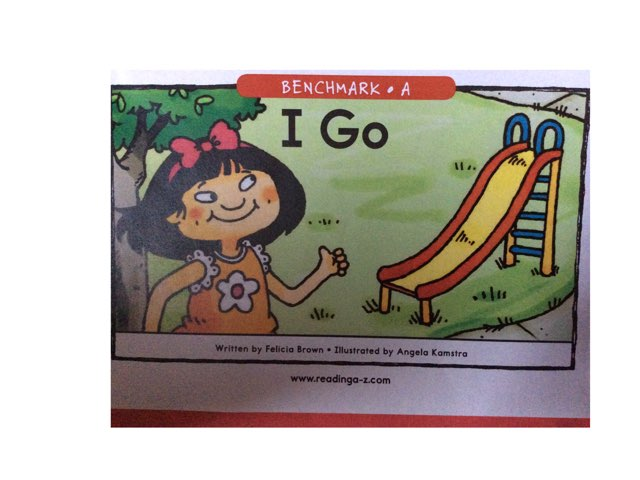 I Go Book by Yvonne Malone