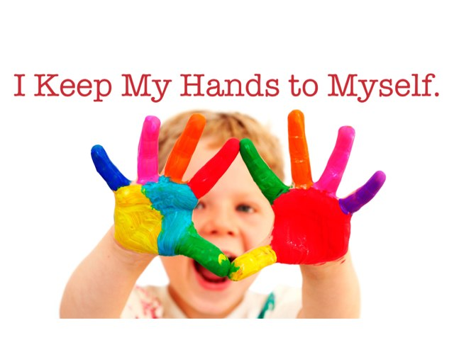 I Keep My Hands To Myself by Theresa Dengler