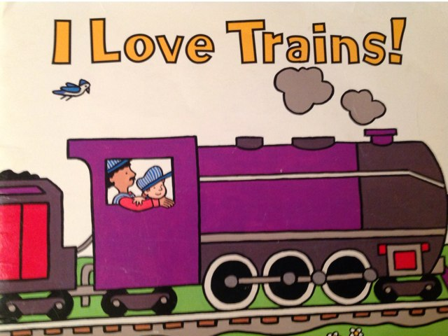 I LOVE TRAINS! by Jules Townsend