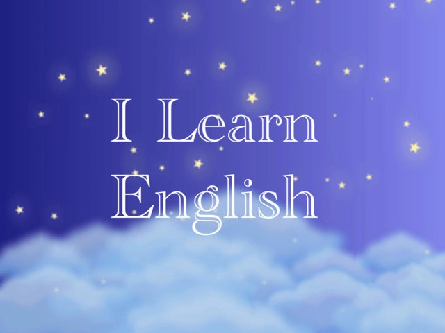I Learn English by Cristian Lopez Kostiouk
