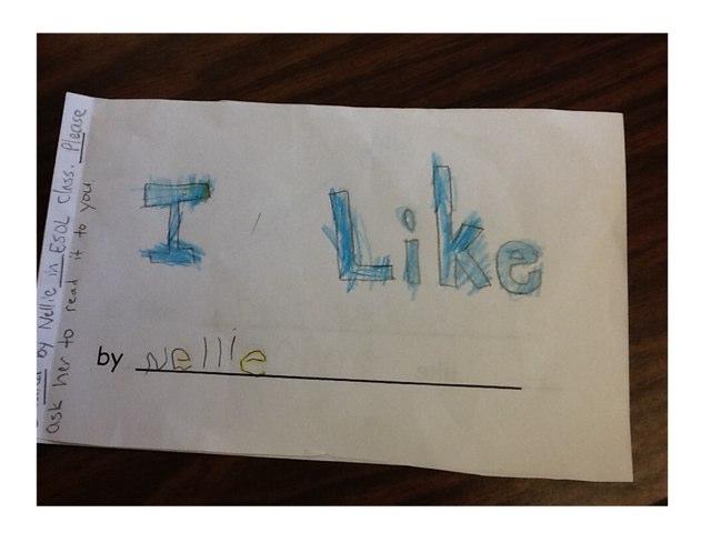 I Like by Jennifer Dorl