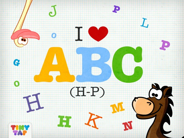 I Love ABC (H-P) by Tiny Tap