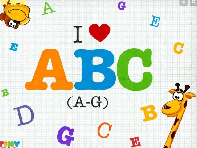 I Love Abc (a-c) by mcpake family