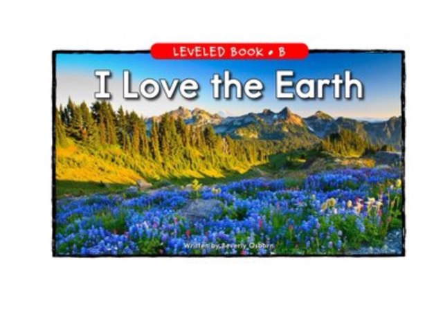 I Love The Earth by Karly Reigel