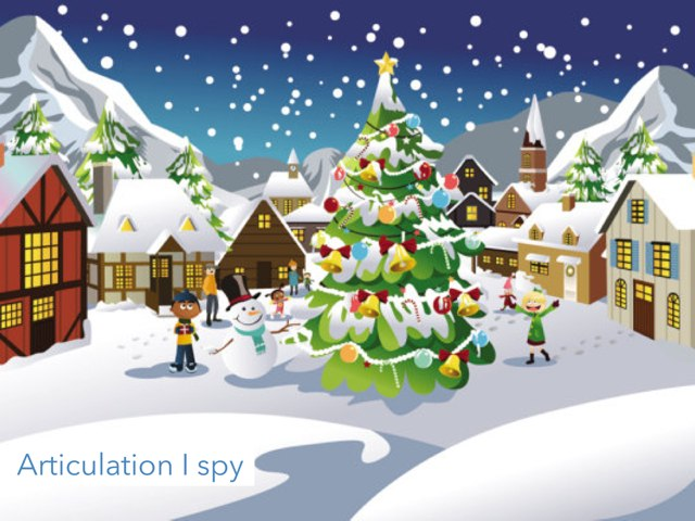 I Spy Articulation  by Meredith Bluver