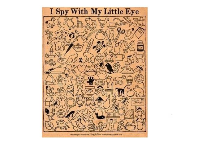 I Spy..... by Jennie Dalgren