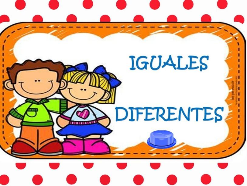 IGUALES-DIFERENTES by Ivomme Valery Aliaga Saldaña