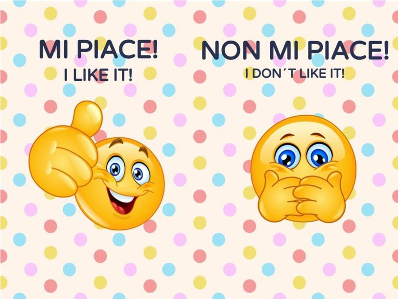 IL VERBO PIACERE IN ITALIANO by LAURA PULLARA